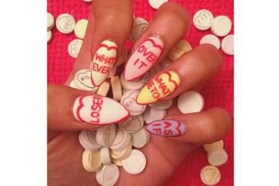 Anti Valentine S Day Nail Art Nail Art Diy Trials Guide