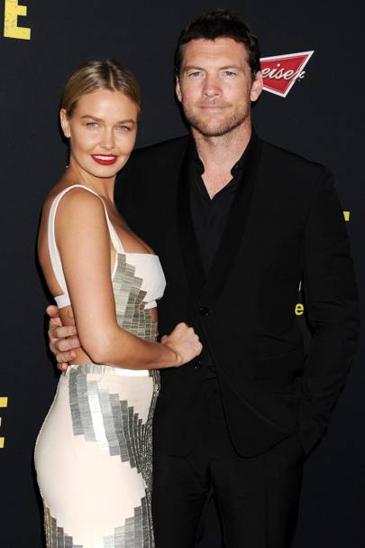 Sam Worthington & Lara Bingle