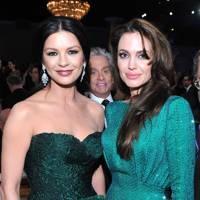 Michael Douglas, Catherine Zeta-Jones & Angelina Jolie