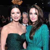 Michael Douglas, Catherine Zeta-Jones & Angelina Jolie