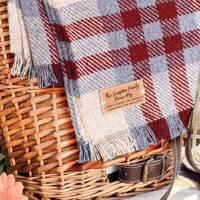 Personalised picnic blanket