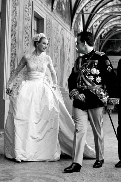 Grace Kelly &  Prince Rainier III of Monaco
