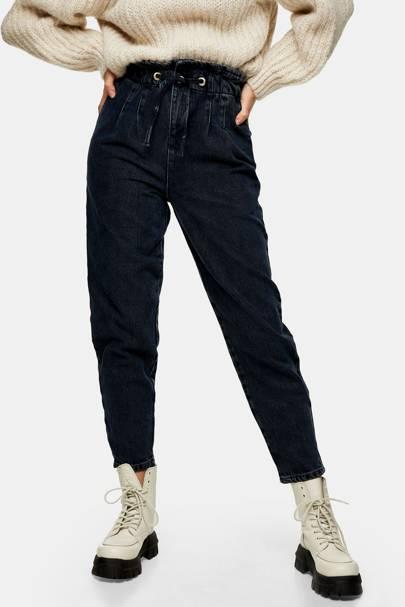 Best drawstring mom jeans