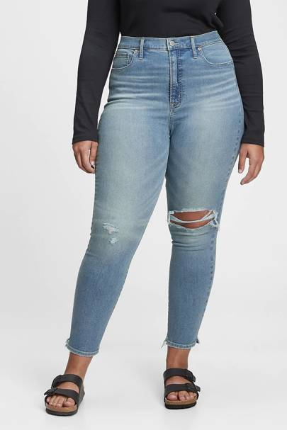 Best Jeans For Curvy Women: Ripped Jeans