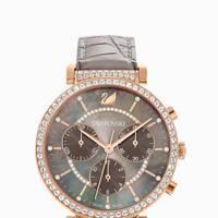 Best designer watches - grey leather strap