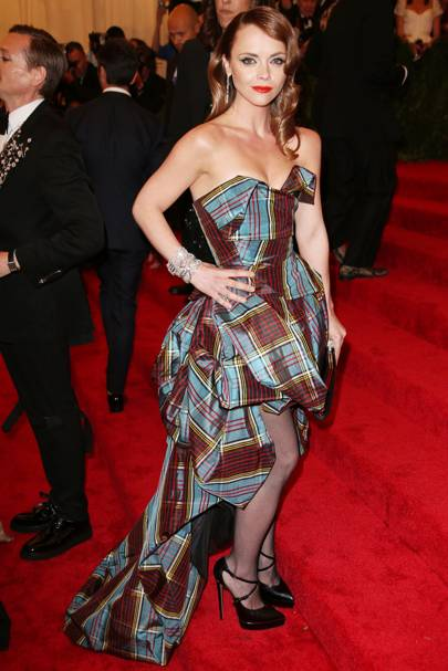 Christina Ricci at the Met Gala
