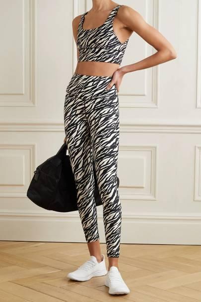 Zebra Print Trousers - The Upside