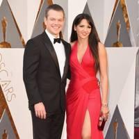 Matt Damon (with Luciana Barroso) - 2016