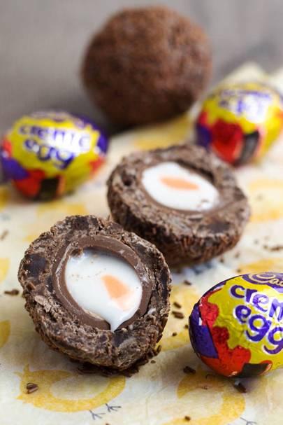 Creme Scotch Eggs