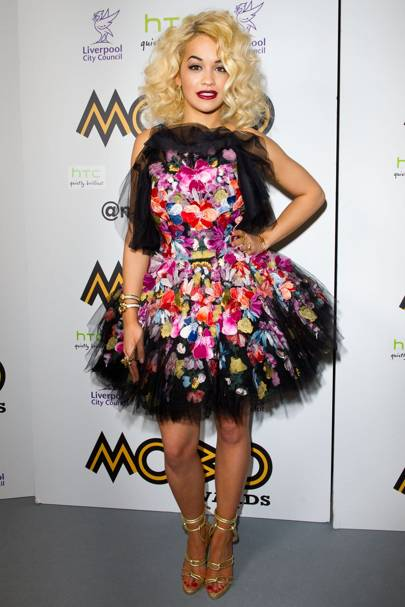 DO #19: Rita Ora at the MOBO Awards 2012, November