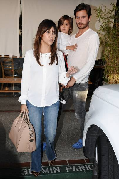 Kourtney Kardashian & Scott Disick