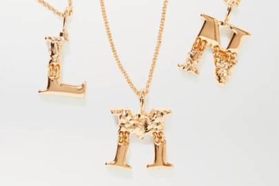 Best Wedding Day Jewellery - Initial Necklace