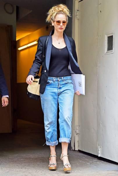 8. Jennifer Lawrence (Down 7)