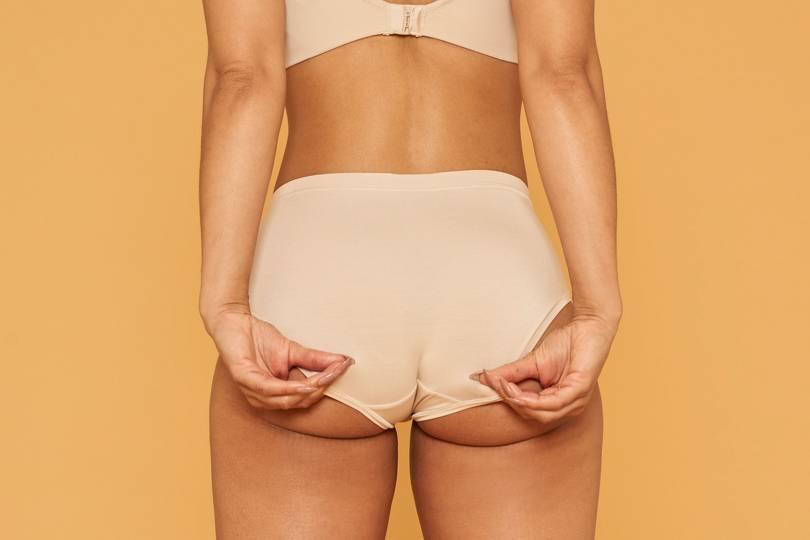 Stuff underwear white in girls Women's Underwear
