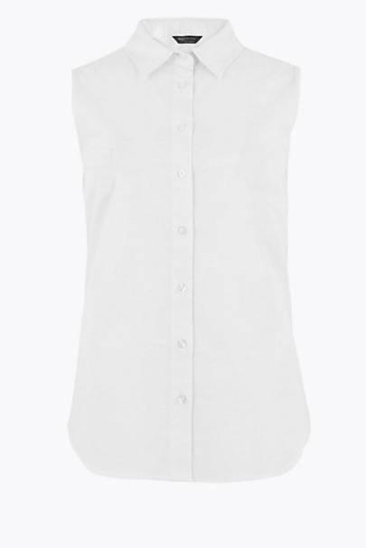Best Women's White Shirts - M&S