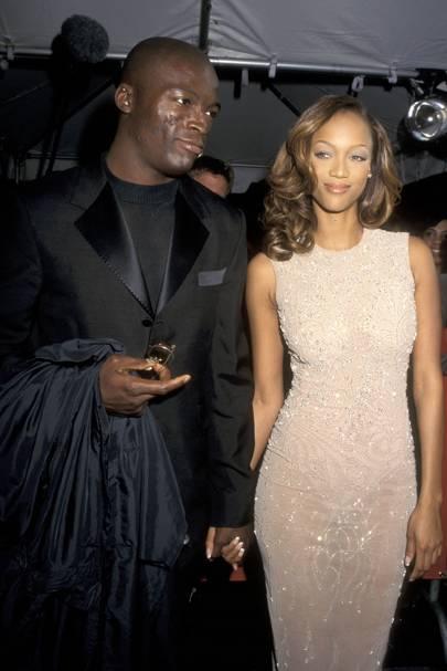 Seal & Tyra Banks