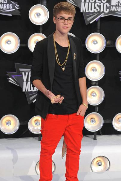 Justin Bieber at the MTV VMAs 2011