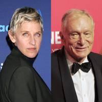 Ellen DeGeneres & Hugh Hefner