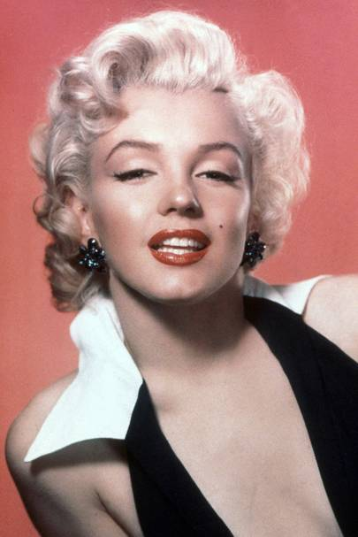 Marilyn Monroe-inspired celebrity hair and beauty  ed41002fde44