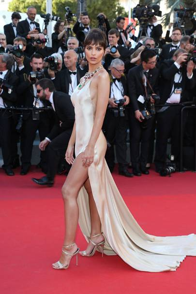 f292eafef9 Getty Images. Emily Ratajkowski looked ...