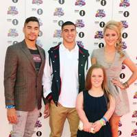 Louis Smith, Adam Gemili, Ellie Simmonds & Laura Trott