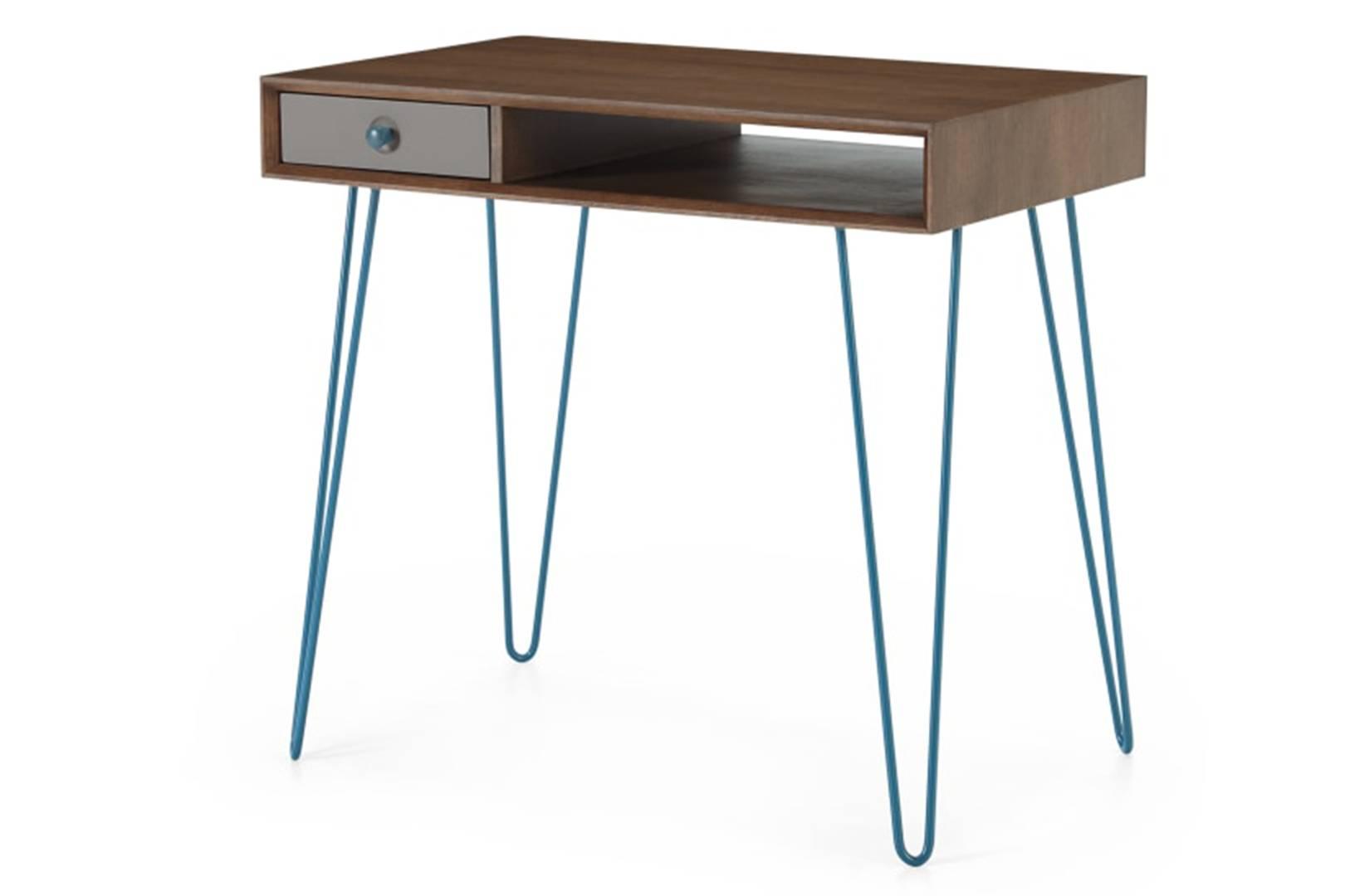 d c3f6e6d3670a9fd86ef8fdacd5e b dskdot013gry uk dotty desk dark stain oak and grey lb01 l