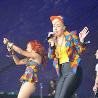Stooshe performs at Lovebox 2012