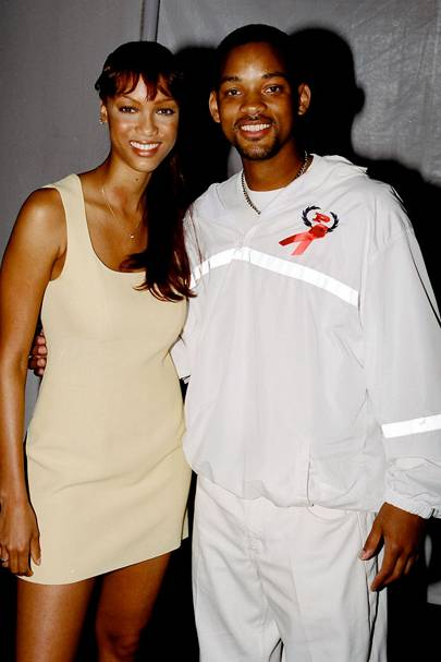 Tyra Banks & Will Smith