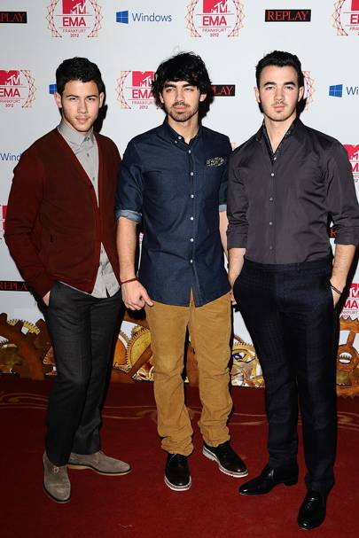 Nick & Kevin & Joe Jonas