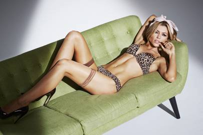 17bfb68b60 Abbey Clancy   Ultimo underwear collection - Pictures - Modelling ...