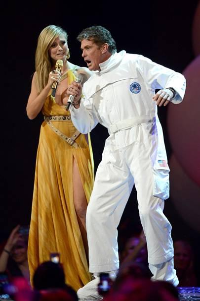 Heidi Klum & David Hasselhoff