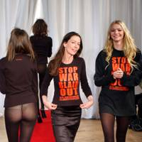 Katherine Hamnett's Stop the War T-shirts