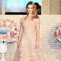 Best Dressed Woman: Lily James