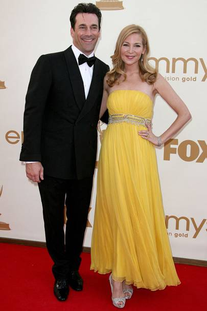 Jon and Jennifer at the Emmys