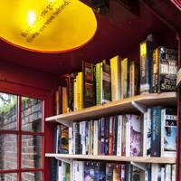 Phone Booth Book Exchange, Lewisham