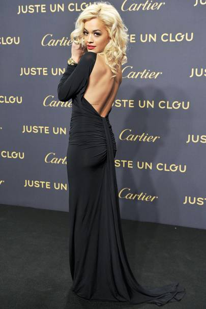 Rita Ora - Backless Wonder