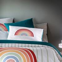 Best duvet cover for adding a pop of colour