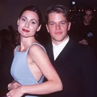 Minnie Driver and Matt Damon