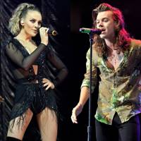 Perrie Edwards & Harry Styles