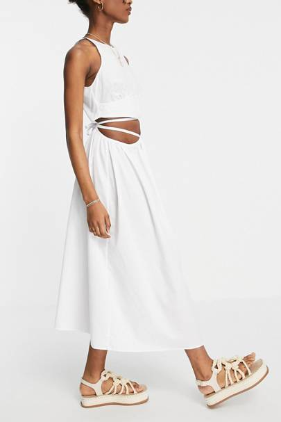 POST-LOCKDOWN SUMMER DRESSES: CUT-OUT