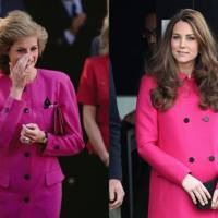 13. THE BLACK-BUTTONED PINK COAT