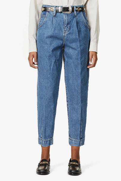 Best classic blue mom jeans