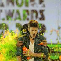 Justin Bieber at the Kids' Choice Awards