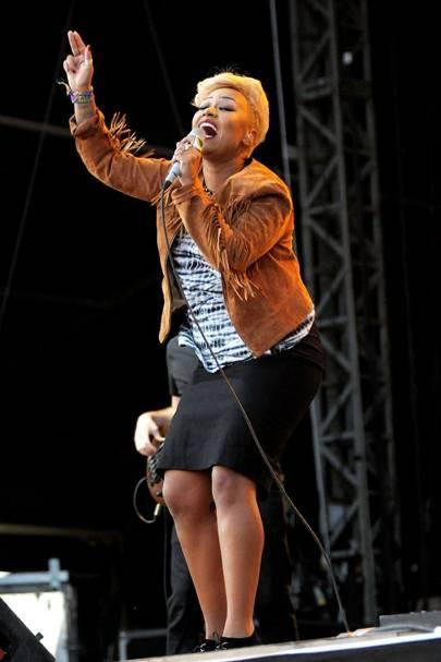 Emeli Sandé performs at Bestival 2012