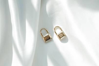 The Dainty Lock Earring by Dainty Dagger