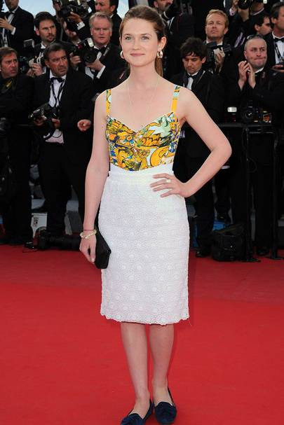 DON'T #1: Bonnie Wright at the Cannes Film Festival, May
