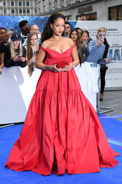 Rihanna Red Carpet Dresses