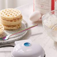 The waffle maker