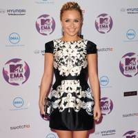 Hayden Panettiere at the MTV EMAs 2011