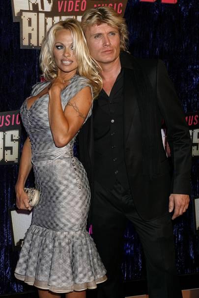 Pamela Anderson And Hans Klok